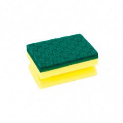 Esponja de fibra para cocina