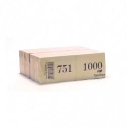 Talonario Guardaropa del 1 al 1000 duplicado