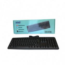 Teclado con cable KNG KN 515