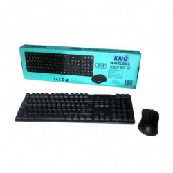 Teclado + Mouse Wireless KNG KN 519