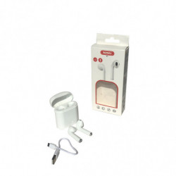 Auricular Bluetooth KNG KN 527 blanco