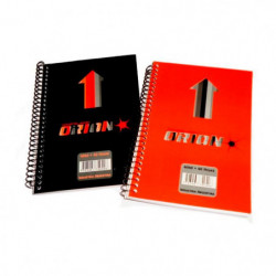 Libreta índice Orion N°30, 12 x 8cm. 40 hojas