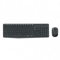 Teclado + Mouse Wireless Logitech MK235