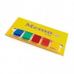 Banderitas Memo Fix colores surtidos, pack de 30 unidades