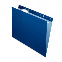 Carpeta Colgante Nepaco azul marino, caja de 25 unidades