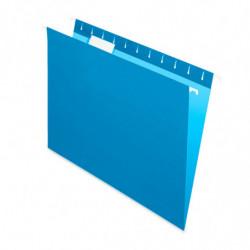 Carpeta Colgante Nepaco celeste, caja de 25 unidades