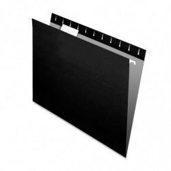 Carpeta Colgante Nepaco negra, caja de 100 unidades