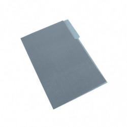 Carpeta Interior Nepaco gris, caja de 100 unidades