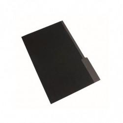 Carpeta Interior Nepaco negra, pack de 25 unidades