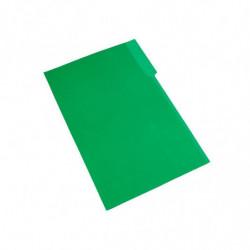 Carpeta Interior Nepaco verde, caja de 100 unidades