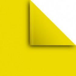 Papel Afiche amarillo, pack de 20 unidades