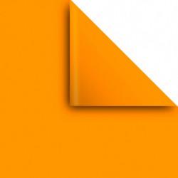 Papel Afiche naranja, pack de 20 unidades