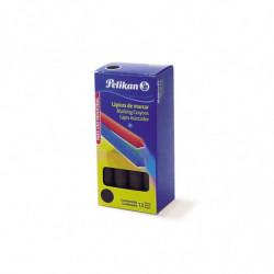 Lápiz de marcar Pelikan 762 azul, caja de 12 unidades