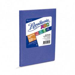 Cuaderno Araña Rivadavia ABC tapa dura azul, 19 x 23cm. 48 hojas cuadriculadas
