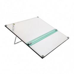 Tablero con atril portátil de una posición Pizzini, 50 x 60cm.