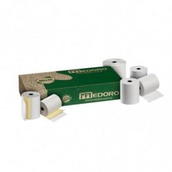 Rollo de máquina Químico duplicado Medoro, 76mm. x 20mts. pack de 10 unidades