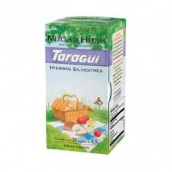 Té Mezcla de hierbas Taragüí, caja de 25 saquitos