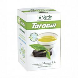 Té Diamantado Taragüí Placeres, caja de 25 saquitos