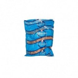 Bandas elásticas  Flexiband de látex, 40mm. bolsa de 250g.