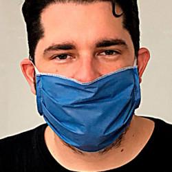 Barbijo tricapa impermeable de uso intenso, pack de 50 unidades