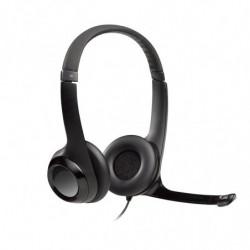 Auricular USB Logitech 390 negro