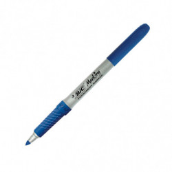 Marcador permanente Bic Marking punta fina azul