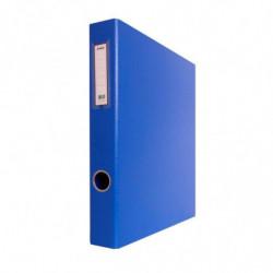 Carpeta 2 anillos forrada Avios Nº3 azul, lomo de 40mm.