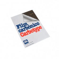 Film carbónico Carbotype negro, 10 hojas