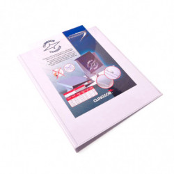 Carpeta 2 anillos semicirculares Clingsor A4 blanca
