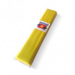 Papel Crepe Mariscal amarillo, pack de 10 unidades
