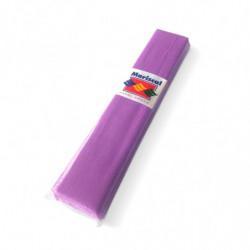 Papel Crepe Mariscal lila, pack de 10 unidades