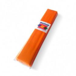 Papel Crepe Mariscal naranja, pack de 10 unidades