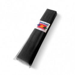 Papel Crepe Mariscal negro, pack de 10 unidades