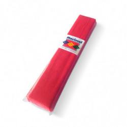 Papel Crepe Mariscal rojo, pack de 10 unidades