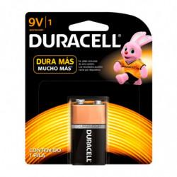 Batería 9 Volts Duracell, blister por unidad
