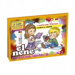 Block de dibujo El Nene Fantasía Nº5, 24 hojasmts.